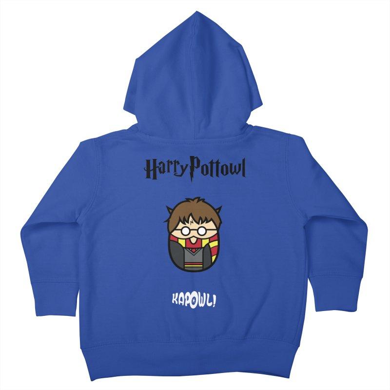 Harry Pottowl Kids Toddler Zip-Up Hoody by Ian J. Norris