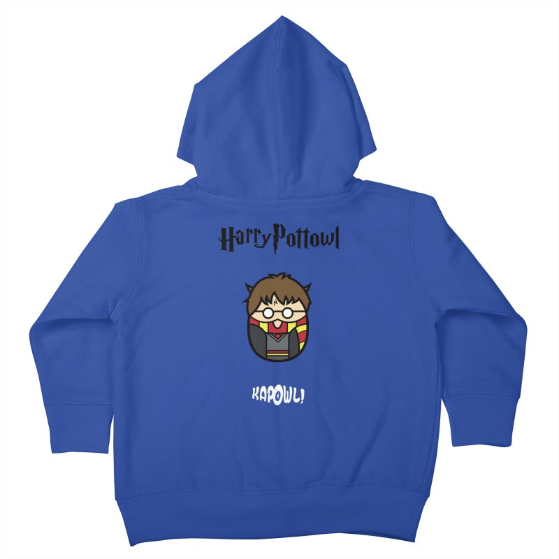 Harry Pottowl Kids Toddler Zip-Up Hoody by Ian J. Norris
