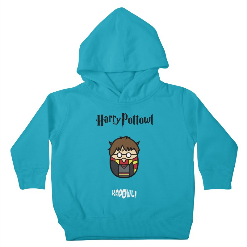 Harry Pottowl Kids Toddler Pullover Hoody by Ian J. Norris