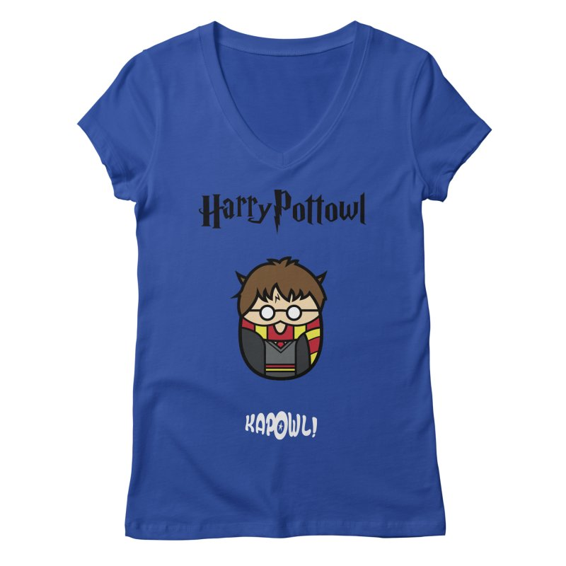 Harry Pottowl Women's Regular V-Neck by Ian J. Norris