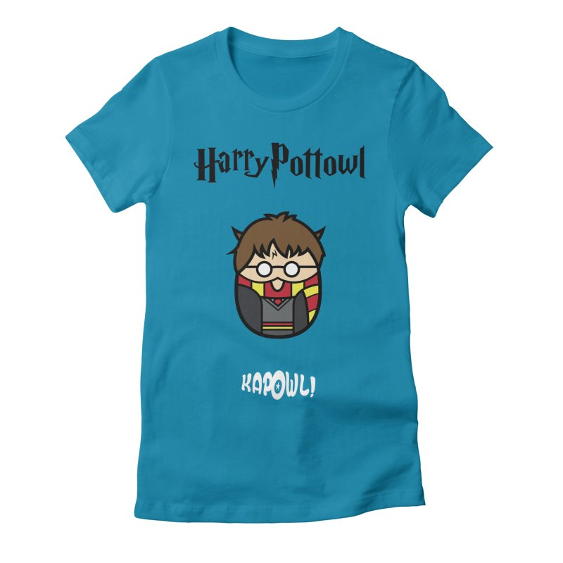 Harry Pottowl Women's Fitted T-Shirt by Ian J. Norris