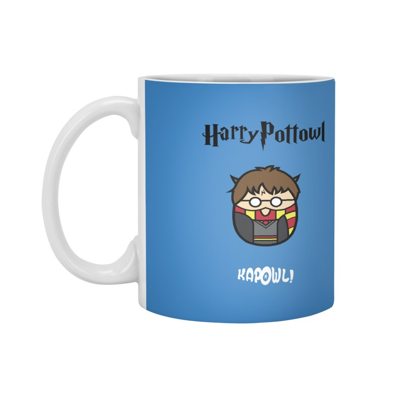 Harry Pottowl Accessories Mug by Ian J. Norris