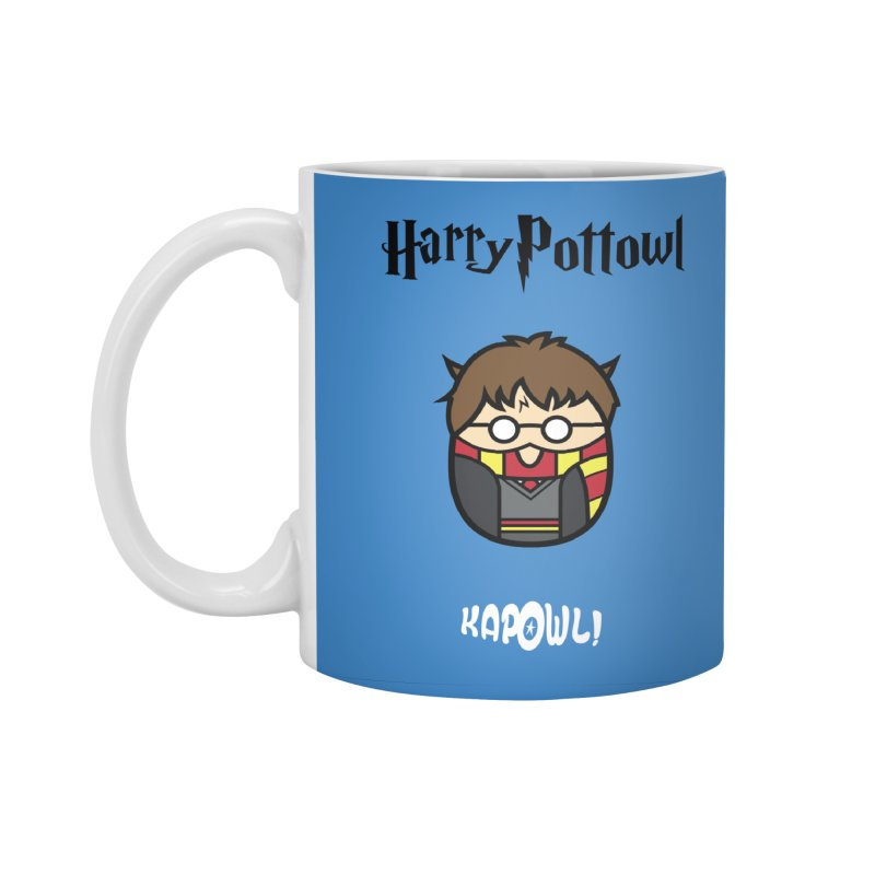 Harry Pottowl Accessories Standard Mug by Ian J. Norris