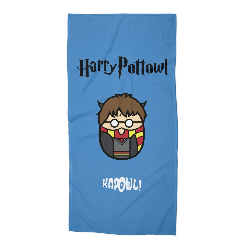 Harry Pottowl Accessories Beach Towel by Ian J. Norris