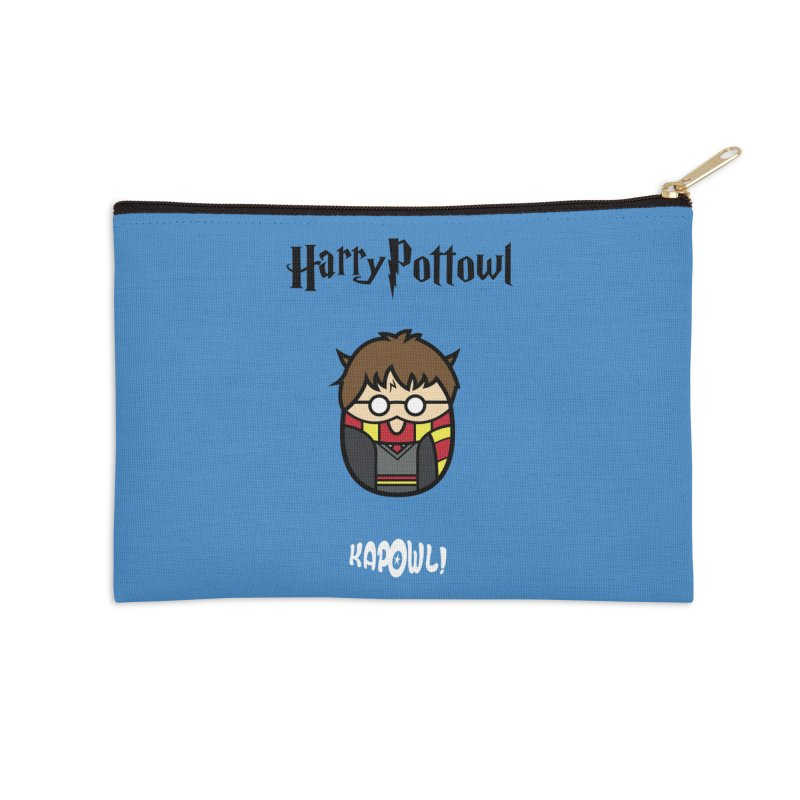Harry Pottowl Accessories Zip Pouch by Ian J. Norris