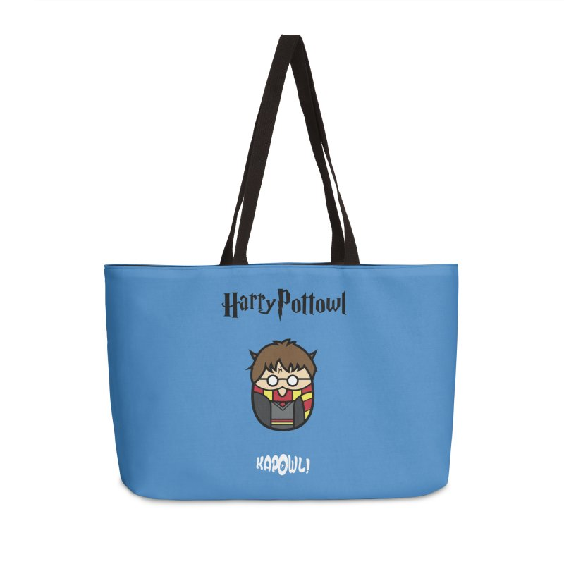 Harry Pottowl Accessories Weekender Bag Bag by Ian J. Norris