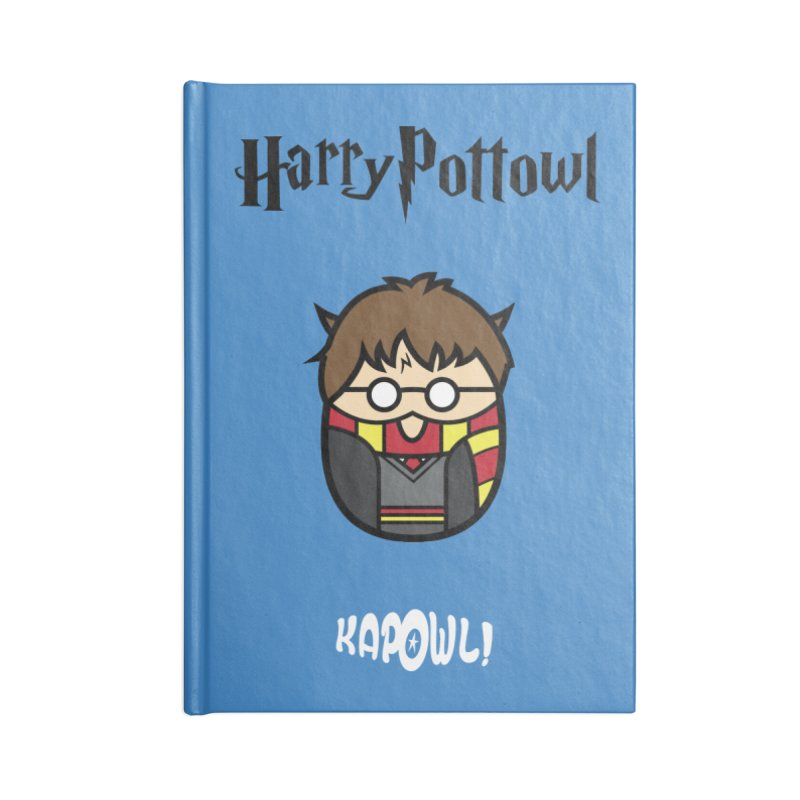 Harry Pottowl Accessories Blank Journal Notebook by Ian J. Norris