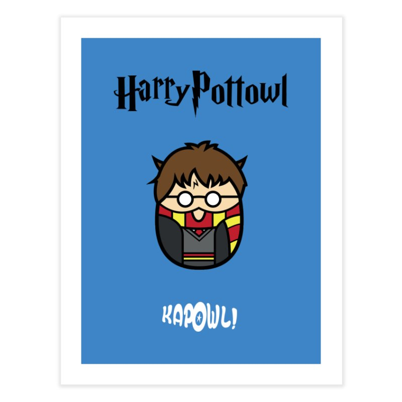 Harry Pottowl Home Fine Art Print by Ian J. Norris