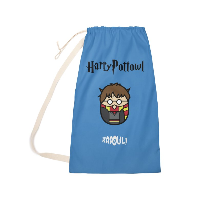 Harry Pottowl Accessories Laundry Bag Bag by Ian J. Norris