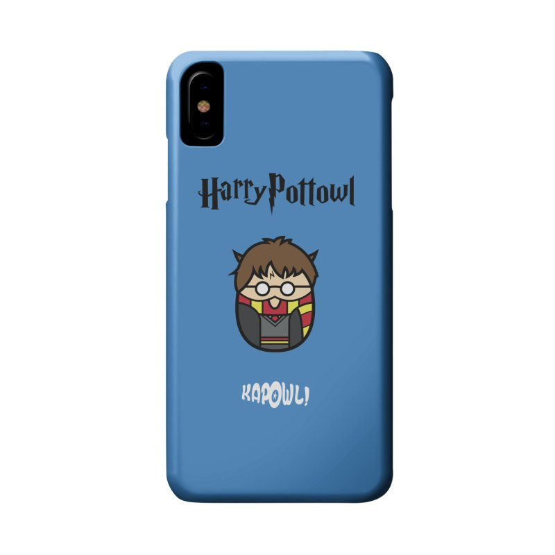 Harry Pottowl Accessories Phone Case by Ian J. Norris