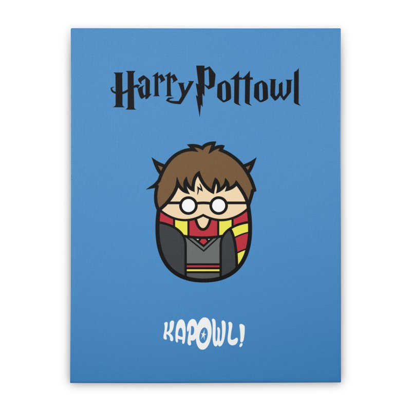 Harry Pottowl Home Stretched Canvas by Ian J. Norris