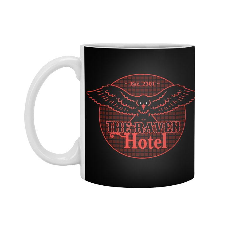 The Raven Hotel Accessories Standard Mug by Ian J. Norris