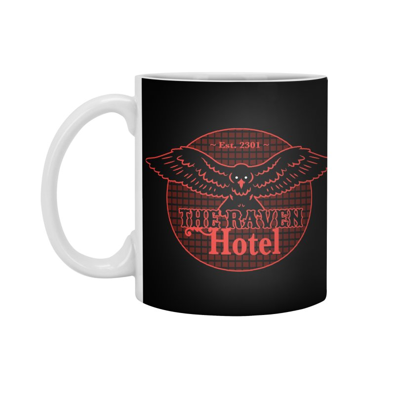 The Raven Hotel Accessories Mug by Ian J. Norris