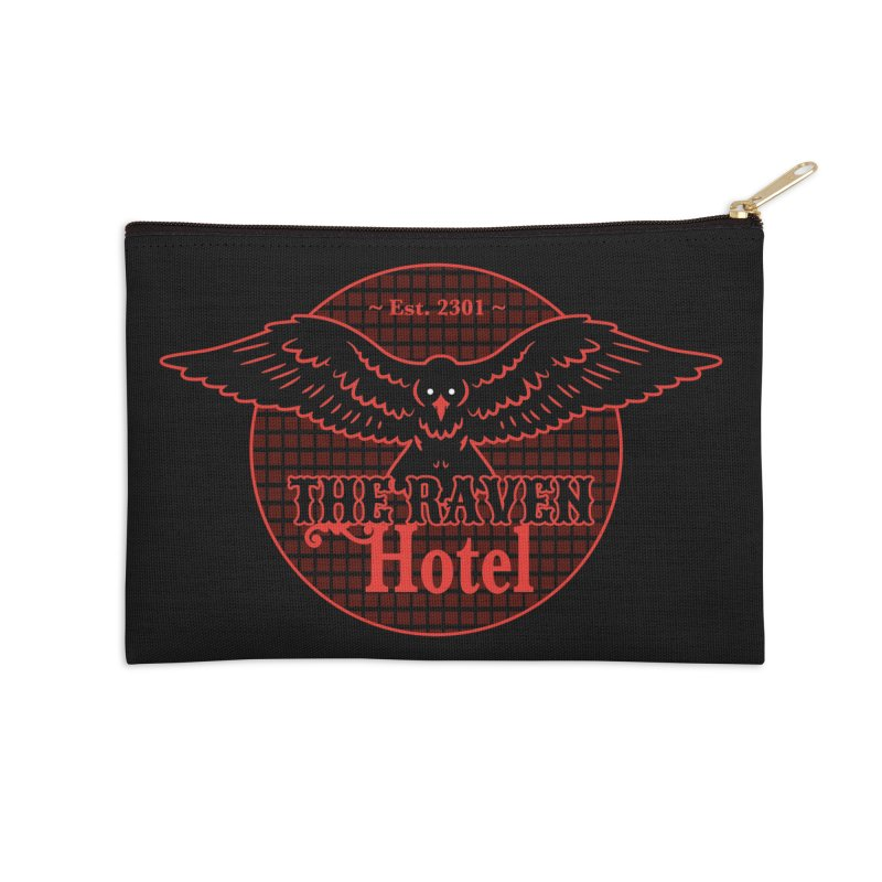 The Raven Hotel Accessories Zip Pouch by Ian J. Norris