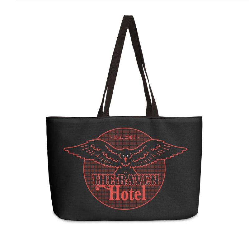 The Raven Hotel Accessories Weekender Bag Bag by Ian J. Norris