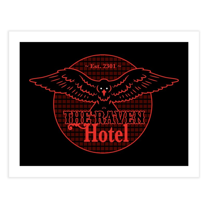 The Raven Hotel Home Fine Art Print by Ian J. Norris