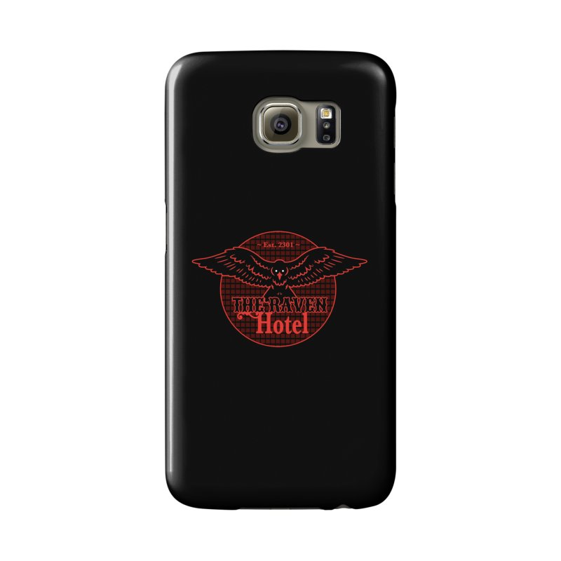 The Raven Hotel Accessories Phone Case by Ian J. Norris