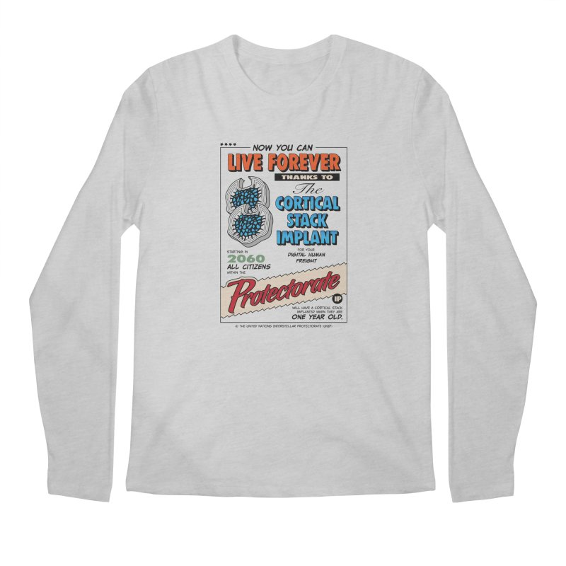 The Cortical Stack Implant Men's Longsleeve T-Shirt by Ian J. Norris