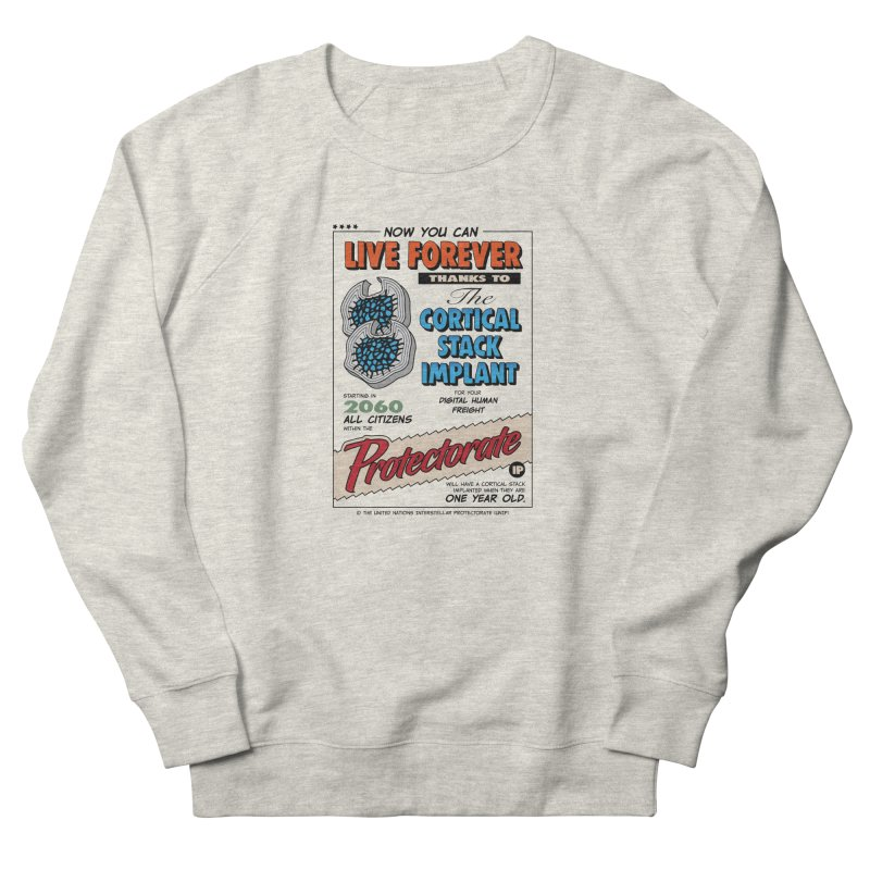 The Cortical Stack Implant Women's Sweatshirt by Ian J. Norris