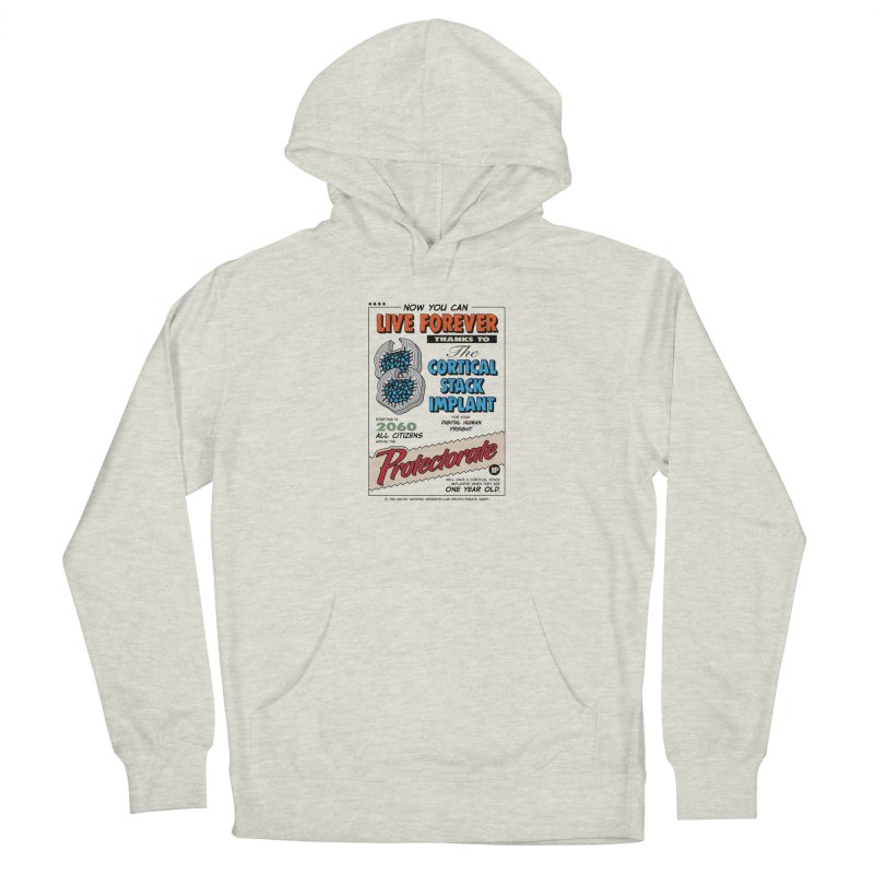 The Cortical Stack Implant Women's French Terry Pullover Hoody by Ian J. Norris
