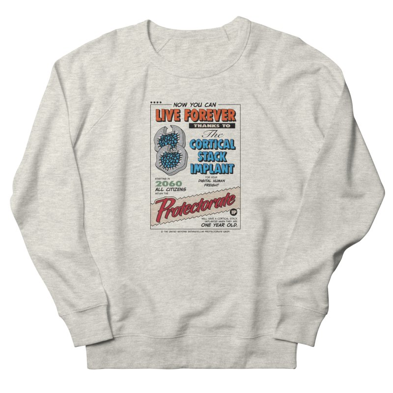 The Cortical Stack Implant Men's French Terry Sweatshirt by Ian J. Norris