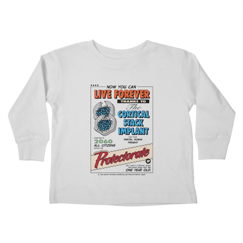 The Cortical Stack Implant Kids Toddler Longsleeve T-Shirt by Ian J. Norris