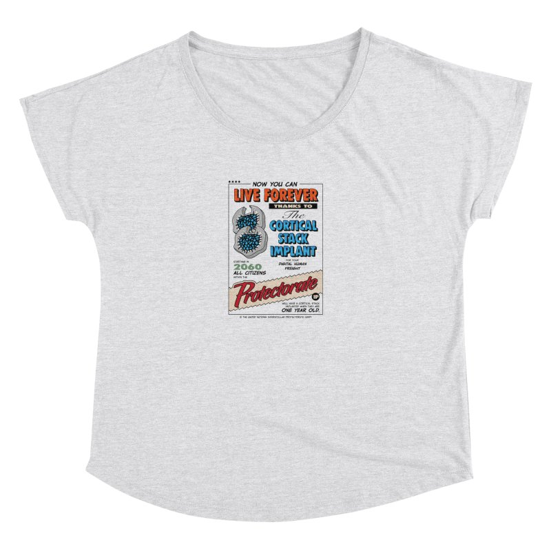 The Cortical Stack Implant Women's Scoop Neck by Ian J. Norris