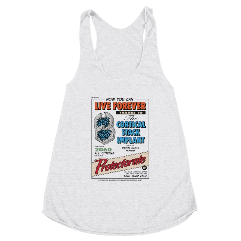 The Cortical Stack Implant Women's Tank by Ian J. Norris