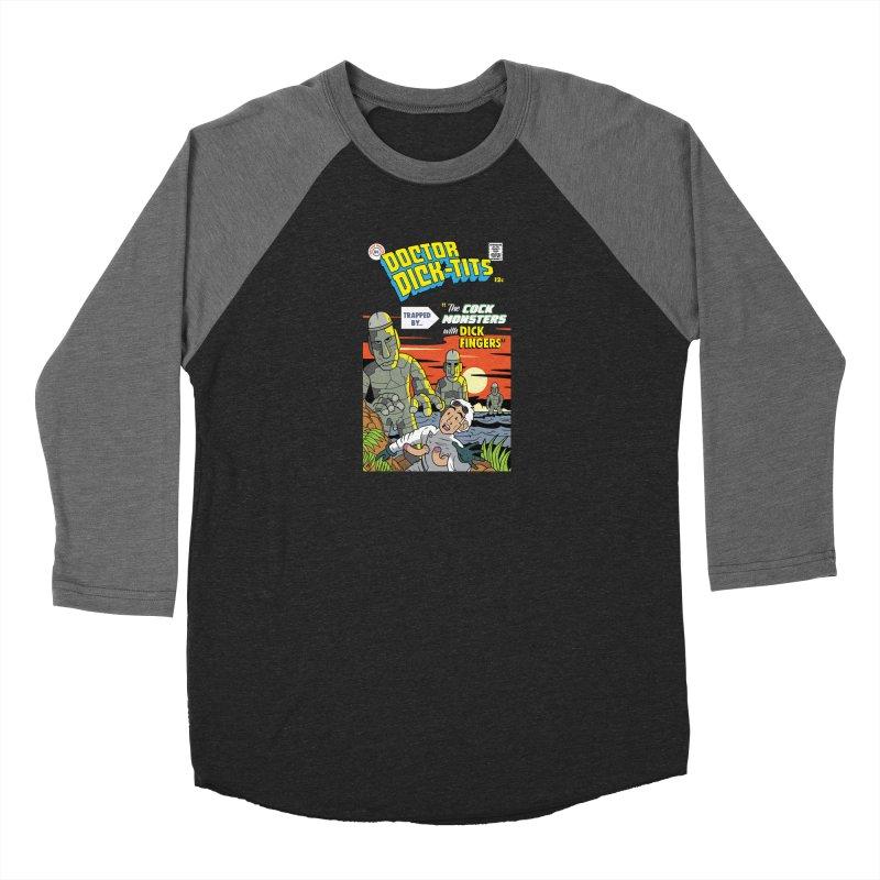 Doctor Dick-Tits Monsters Men's Longsleeve T-Shirt by Ian J. Norris