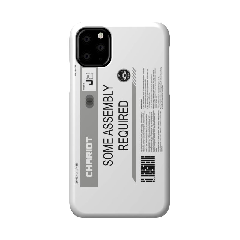 Some Assembly Required - Lost in Space Accessories Phone Case by Ian J. Norris