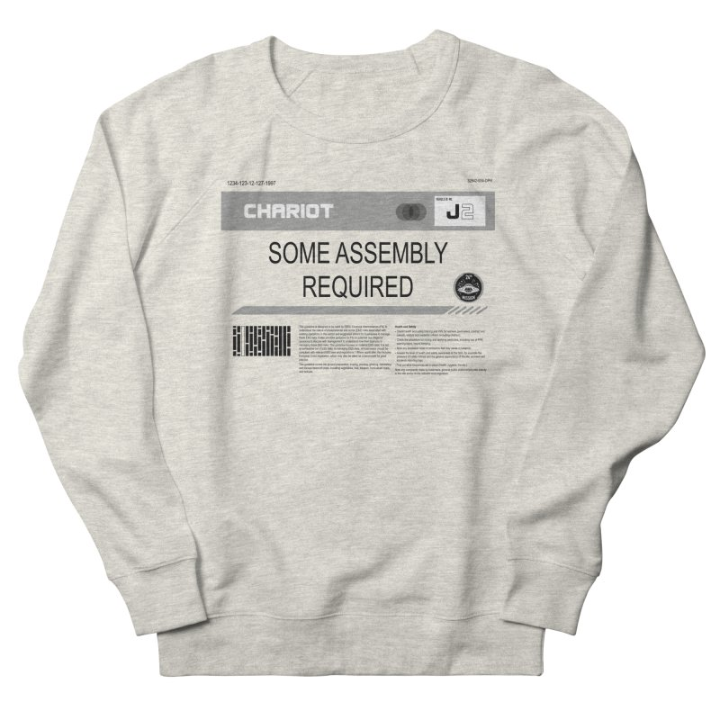 Some Assembly Required - Lost in Space Women's French Terry Sweatshirt by Ian J. Norris