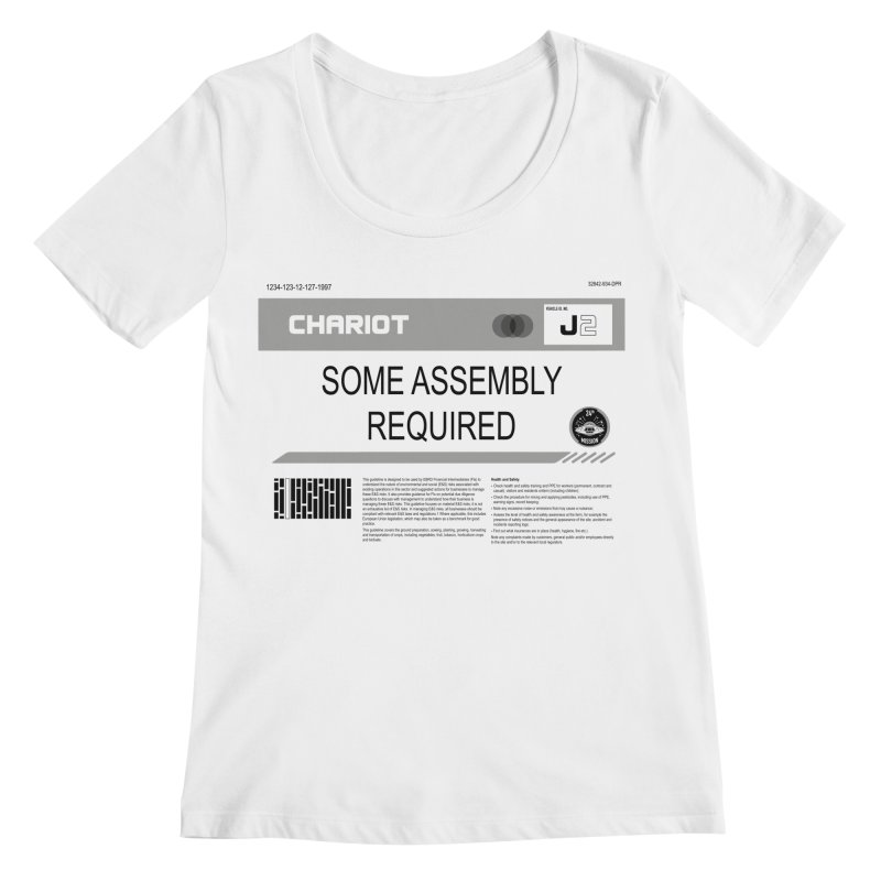 Some Assembly Required - Lost in Space Women's Scoop Neck by Ian J. Norris