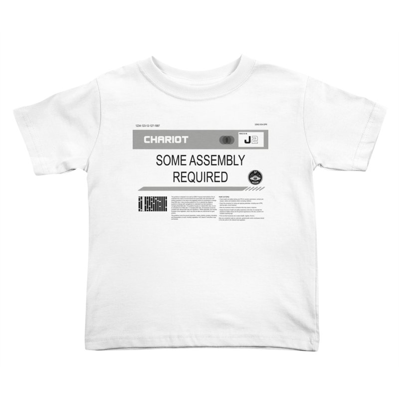 Some Assembly Required - Lost in Space Kids Toddler T-Shirt by Ian J. Norris