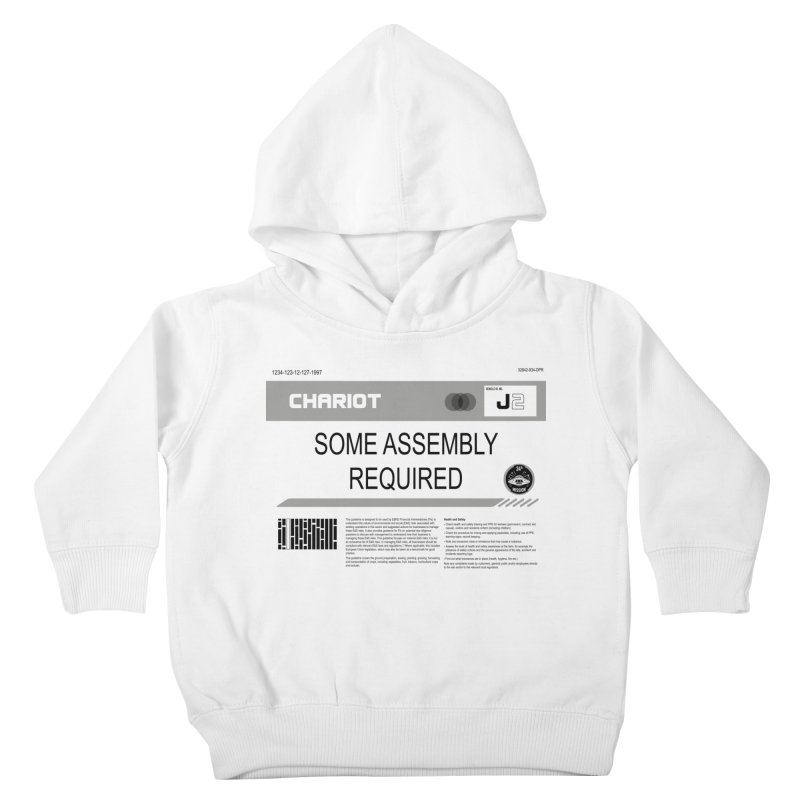Some Assembly Required - Lost in Space Kids Toddler Pullover Hoody by Ian J. Norris