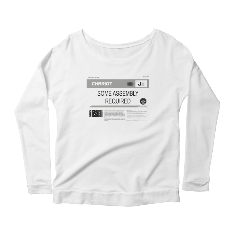 Some Assembly Required - Lost in Space Women's Scoop Neck Longsleeve T-Shirt by Ian J. Norris