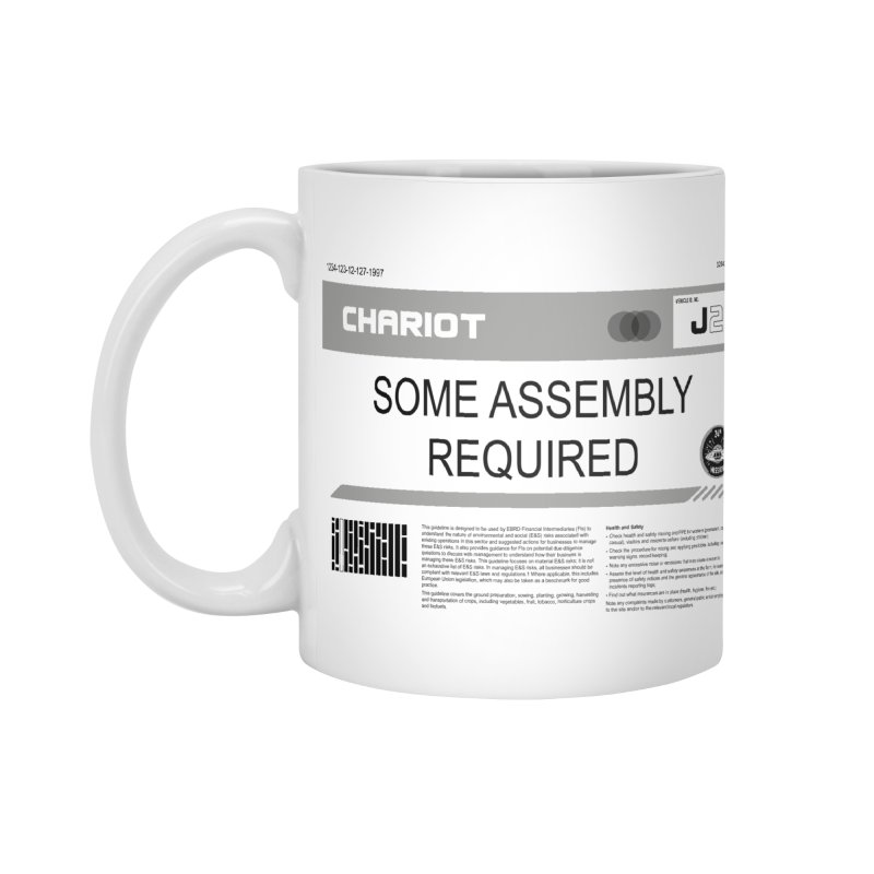 Some Assembly Required - Lost in Space Accessories Mug by Ian J. Norris