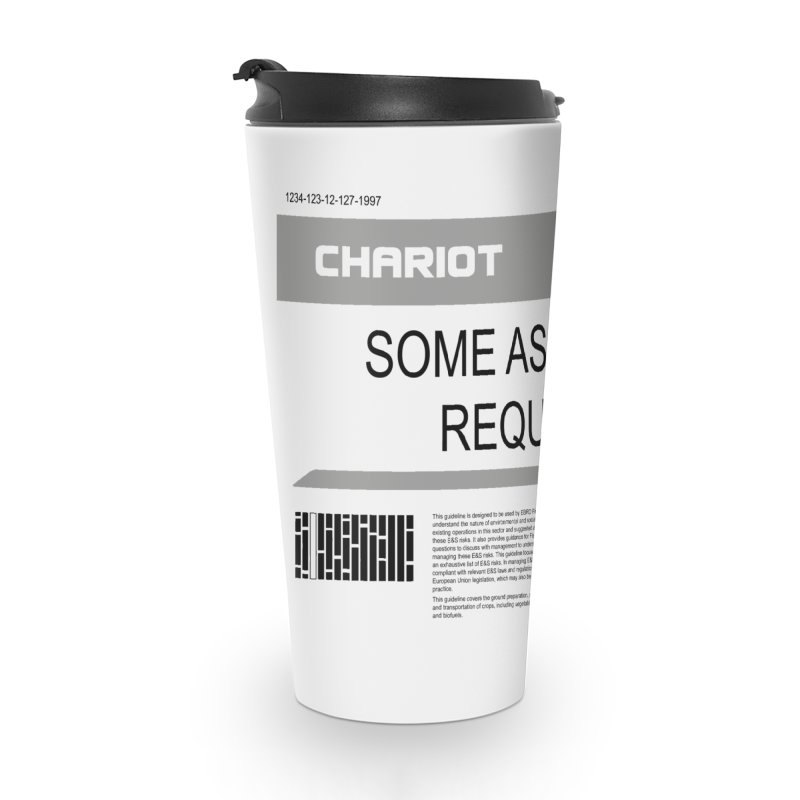 Some Assembly Required - Lost in Space Accessories Travel Mug by Ian J. Norris