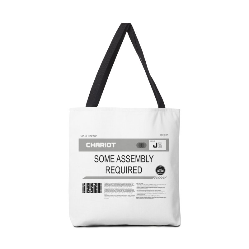 Some Assembly Required - Lost in Space Accessories Tote Bag Bag by Ian J. Norris