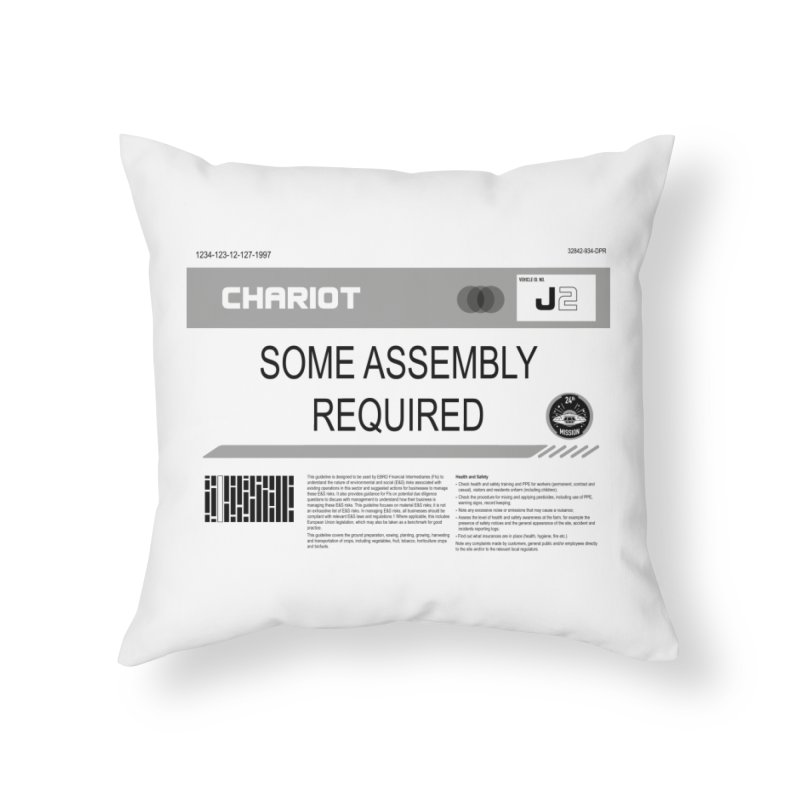 Some Assembly Required - Lost in Space Home Throw Pillow by Ian J. Norris
