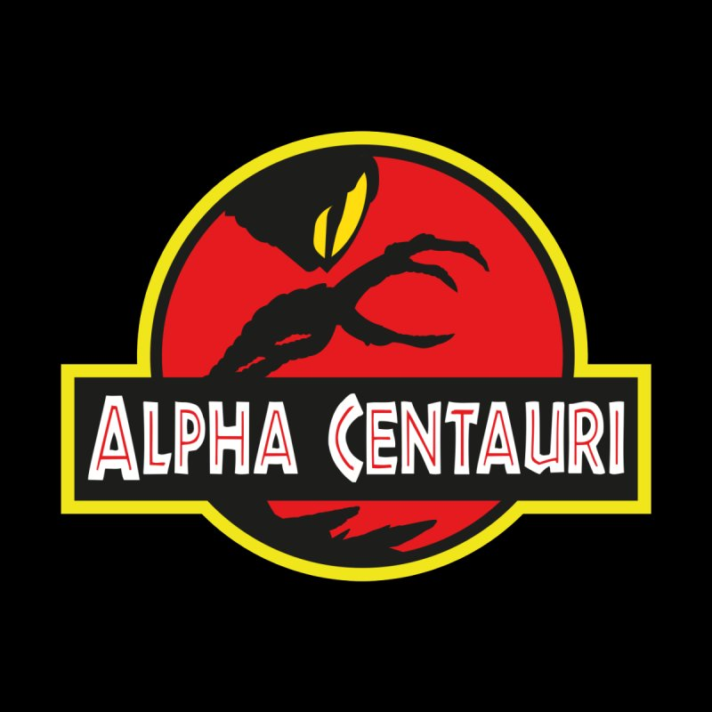 Alpha Centauri - Lost in Space Men's V-Neck by Ian J. Norris