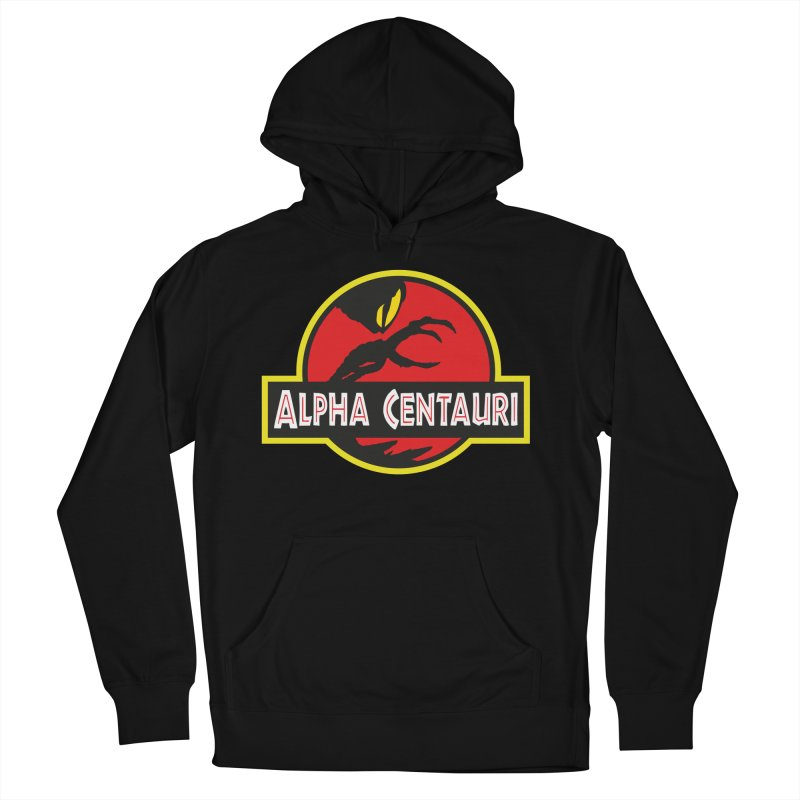 Alpha Centauri - Lost in Space Men's French Terry Pullover Hoody by Ian J. Norris