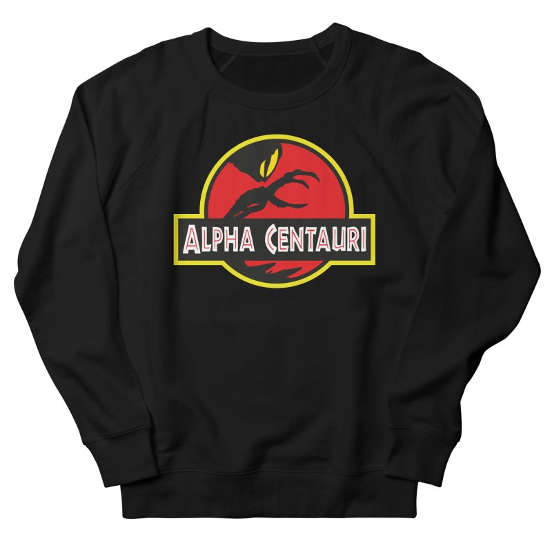 Alpha Centauri - Lost in Space Women's French Terry Sweatshirt by Ian J. Norris