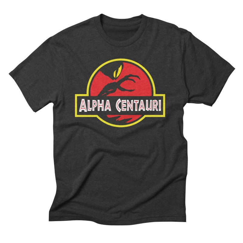 Alpha Centauri - Lost in Space Men's Triblend T-Shirt by Ian J. Norris