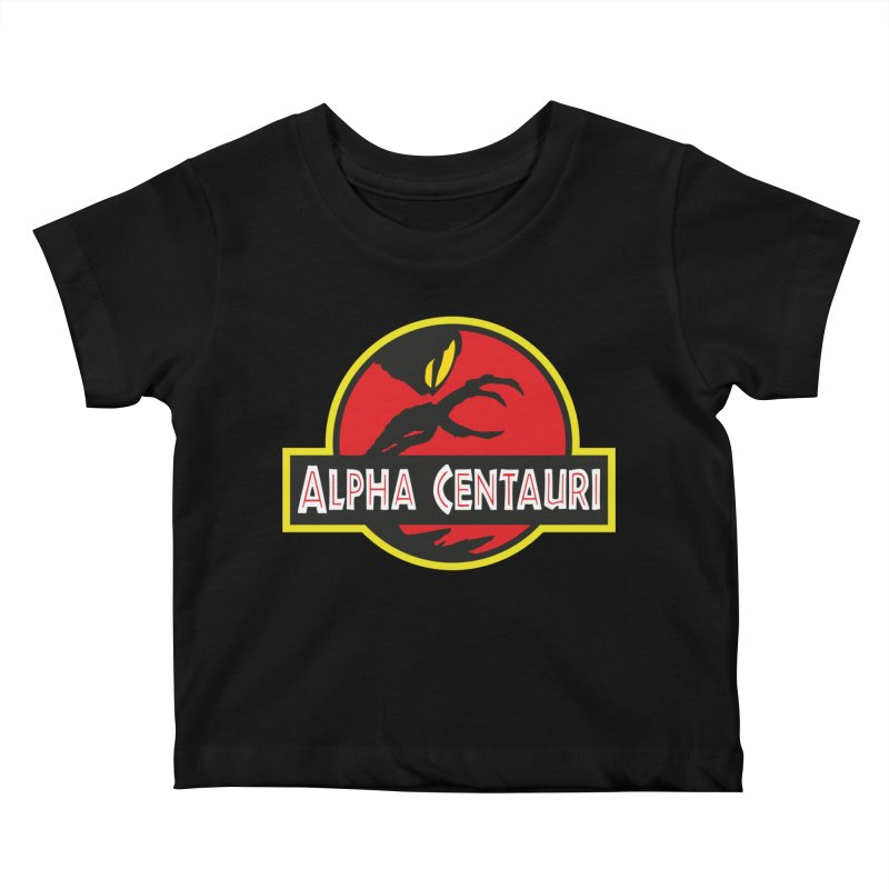 Alpha Centauri - Lost in Space Kids Baby T-Shirt by Ian J. Norris