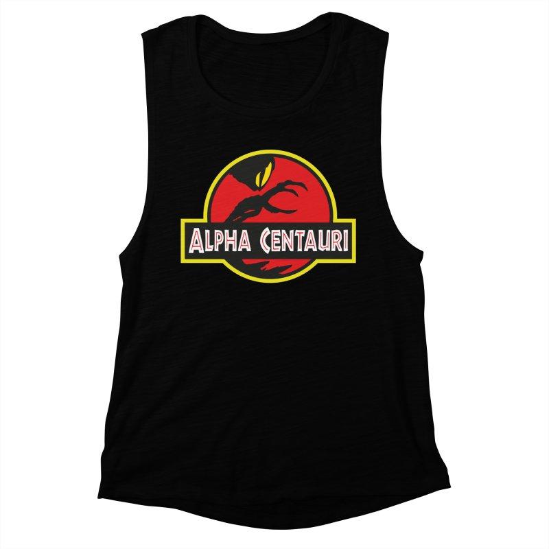 Alpha Centauri - Lost in Space Women's Muscle Tank by Ian J. Norris