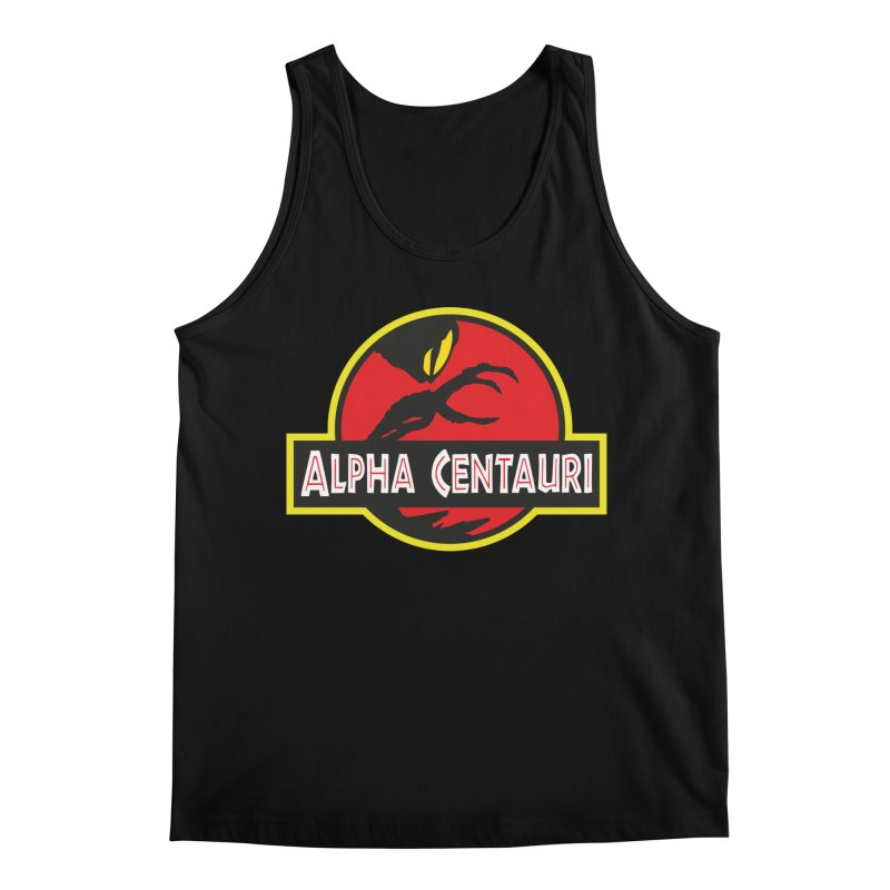 Alpha Centauri - Lost in Space Men's Tank by Ian J. Norris