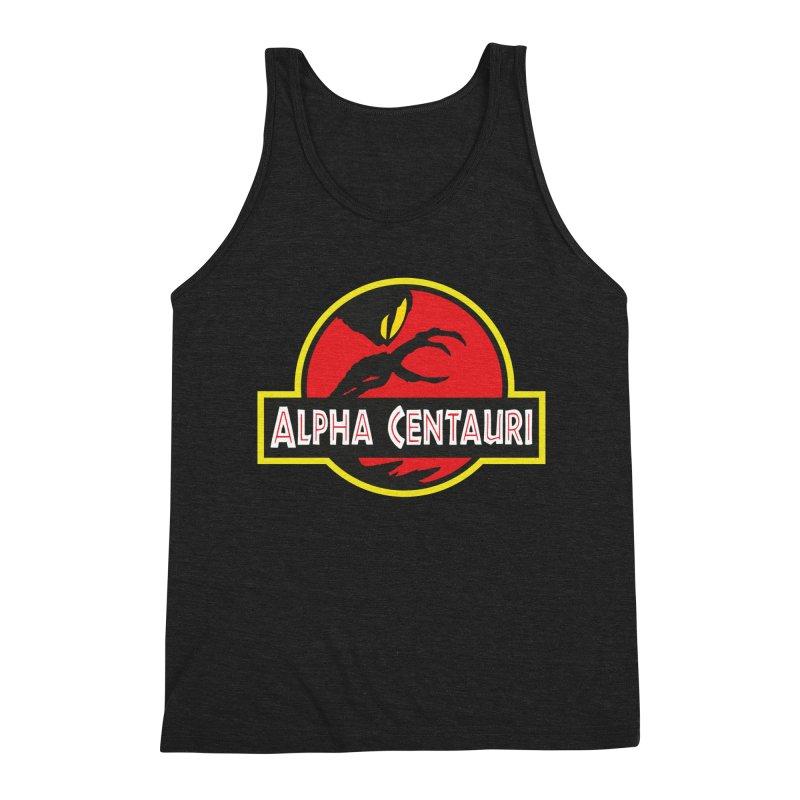 Alpha Centauri - Lost in Space Men's Triblend Tank by Ian J. Norris