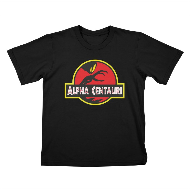 Alpha Centauri - Lost in Space Kids T-Shirt by Ian J. Norris