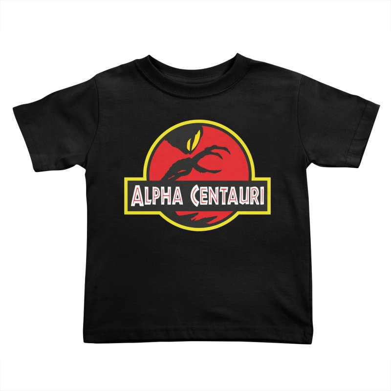 Alpha Centauri - Lost in Space Kids Toddler T-Shirt by Ian J. Norris