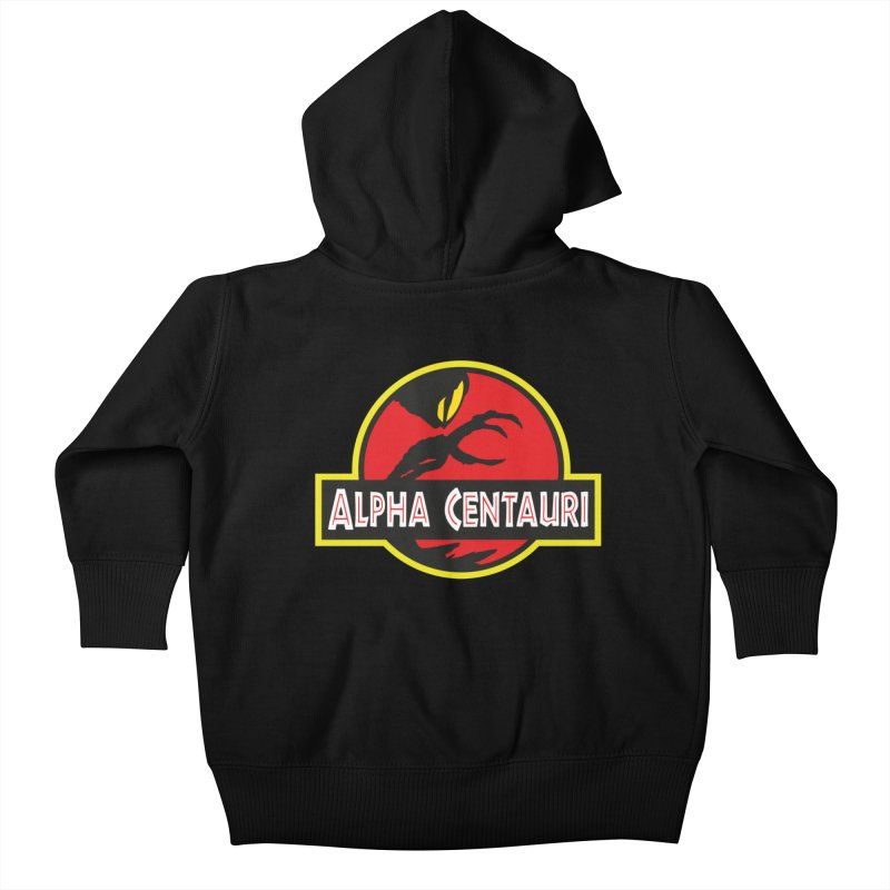 Alpha Centauri - Lost in Space Kids Baby Zip-Up Hoody by Ian J. Norris